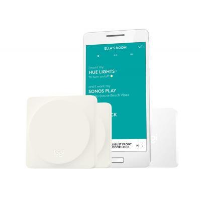 Logitech : Eenvoudige smart-thuisbediening voor het hele gezin - Wit