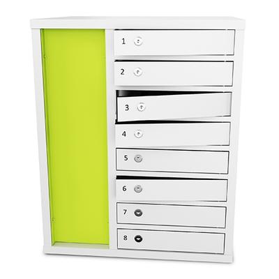 Zioxi Laptop 1:1 Locker 8,Key Lock Opbergdozen voor hulpmiddelen