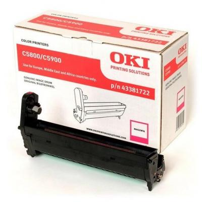 OKI drum: Drum for C5800/C5900, Magenta