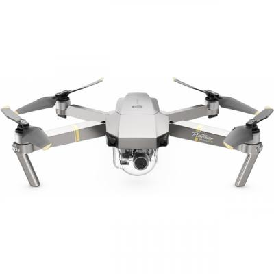 Dji drone: Mavic Pro Platinum Fly More Combo - Zwart, Zilver, Roestvrijstaal