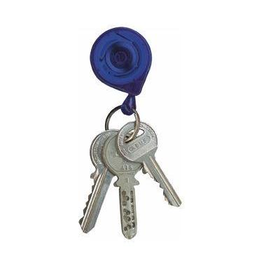 Rieffel sleutelketting: KB MINI - Blauw