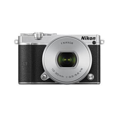 Nikon digitale camera: 1 J5 + 1 NIKKOR VR 10-30mm - Zilver