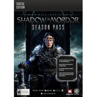 Warner bros : Middle-earth: Shadow of Mordor - Season Pass, PC