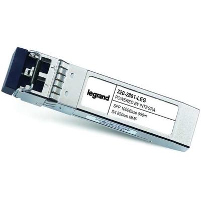 Legrand Dell[R] 320-2881 compatibele TAA-conforme 1000Base-SX SFP transceiver (MMF, 850 nm, 550 m, LC) Netwerk .....