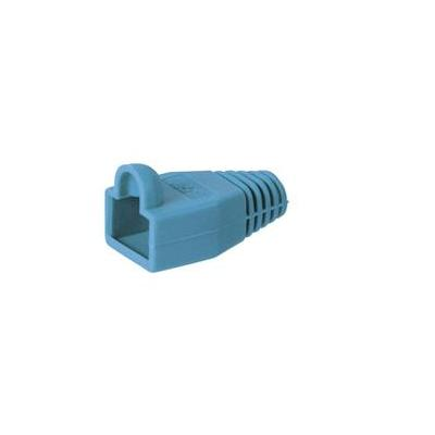 Wentronic kabelklem: Strain relief boot for RJ45 plugs - Blauw