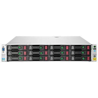 Hewlett packard enterprise SAN: StoreVirtual 4530 450GB SAS Storage - Zwart, Roestvrijstaal