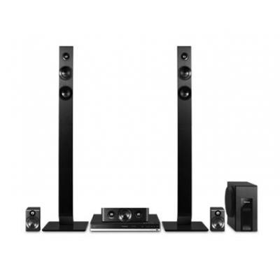 Panasonic home cinema system: SC-BTT465 - Zwart