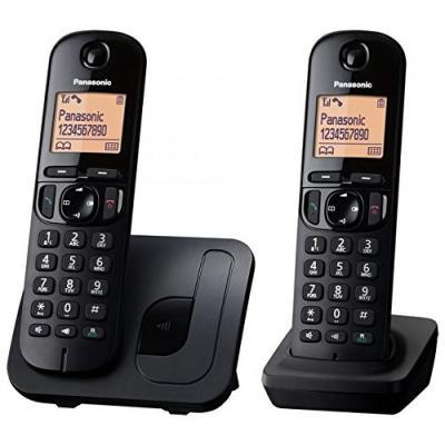 Panasonic dect telefoon: KX-TGC212 - Zwart
