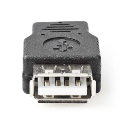 Nedis USB 2.0-Adapter, Micro-B Male - A Female, Zwart Kabel adapter