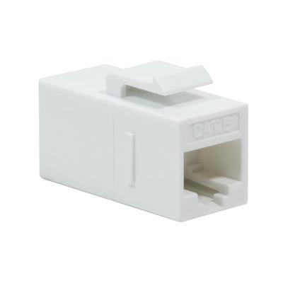 LogiLink 2 x RJ-45, Cat6, 20g, White Kabel adapter - Wit