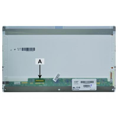 2-power notebook reserve-onderdeel: 2P-B156HW01V.3 - Wit