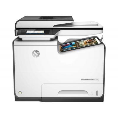 HP multifunctional: PageWide Managed P57750dw - Zwart, Cyaan, Magenta, Geel (Demo model)