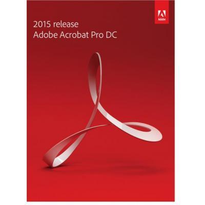 Adobe desktop publishing: Acrobat Pro DC, GOV