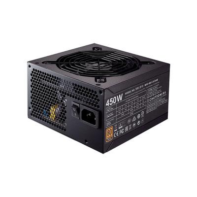 Cooler Master MWE Bronze 450 Power supply unit - Zwart