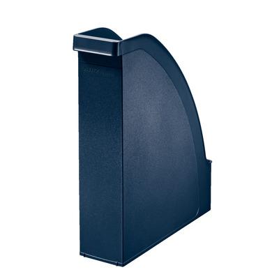 Leitz A4, 78 x 300 x 278 mm, Gerecycled Polystyreen Tijdschrift houder - Blauw