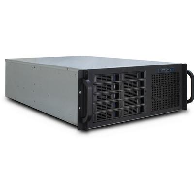 Inter-Tech IPC 4U-4410 Behuizing - Zwart