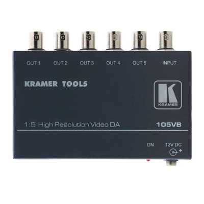 Kramer Electronics Kramer 105VB Distr. Versterker Video-lijnaccessoire - Zwart