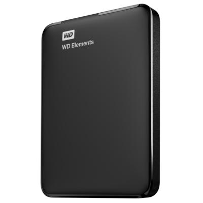 Western Digital WD Elements Portable Externe harde schijf - Zwart