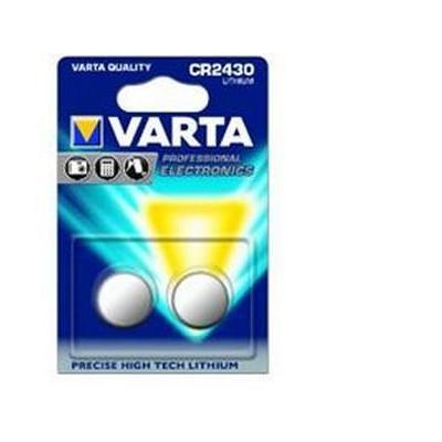 Varta batterij: 2x CR2430 - Zilver