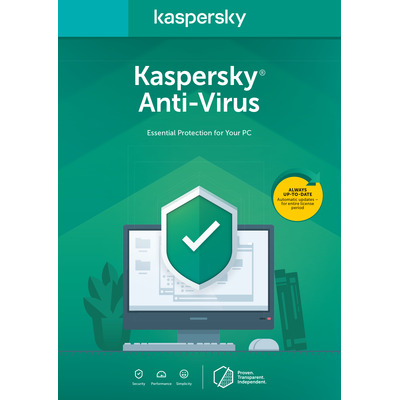Kaspersky Lab Anti-Virus 2020 Software