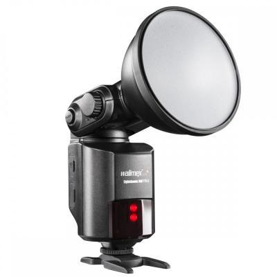 Walimex camera flitser: pro Light Shooter 360 TTL/C + Power Porta - Zwart