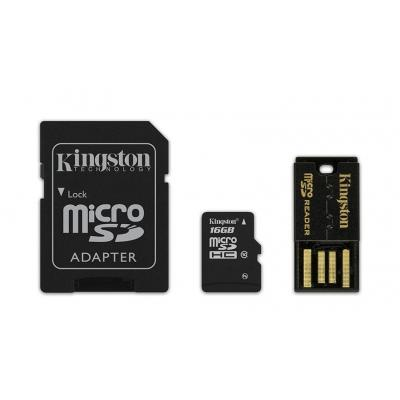 Kingston Technology flashgeheugen: 16GB Multi Kit - Zwart