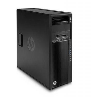 Hp pc: Z 440 Microtower - Intel Xeon E5 - 512GB Z Turbo Drive - Zwart