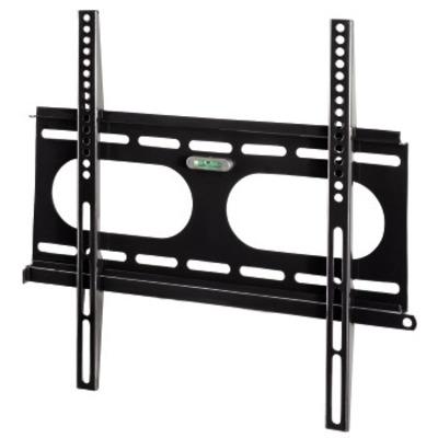 """Hama """"Next Light"""" LCD/PL/LED Wall Bracket, VESA 400x400, fixed, black Montagehaak - Zwart"""