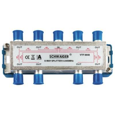 Schwaiger VTF8848241 kabel splitter of combiner