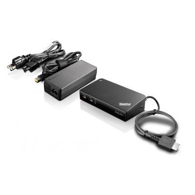 Lenovo docking station: ThinkPad OneLink+ - Zwart