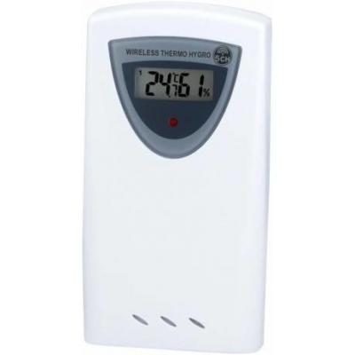 Bresser optics hygrometer: 32x60x110mm, 120g, White/Grey - Grijs, Wit