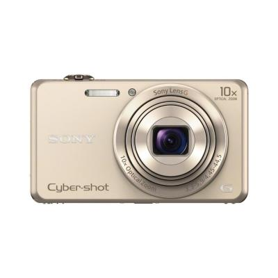 Sony digitale camera: Cyber-shot DSC-WX220 Pocket Videocamera - Goud