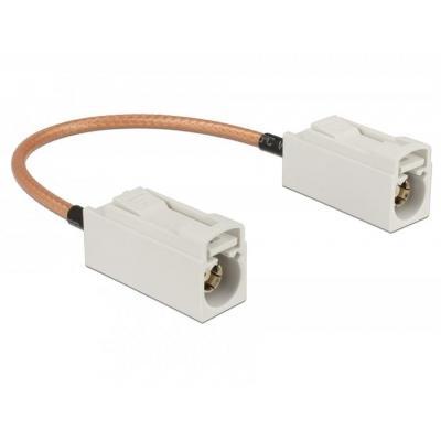 DeLOCK Delock Antenna Cable FAKRA B jack > FAKRA B jack RG-316 15 cm