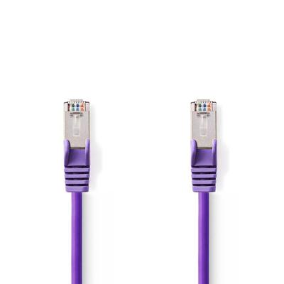 Nedis Cat5e, SF/UTP, PVC, Gigabit Ethernet, 27AWG, Purple, 30m Netwerkkabel - Paars