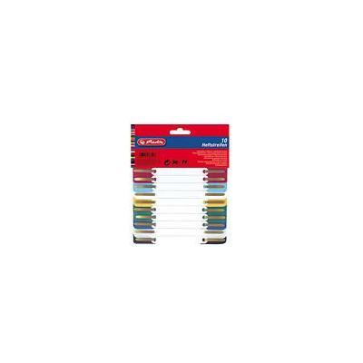 Herlitz inbinder: filing strip PP ac. 10 pieces - Veelkleurig