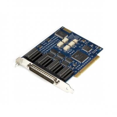 Black Box RS-232/422/485 PCI Card, 4-Port, 16850 UART Interfaceadapter - Zwart, Blauw