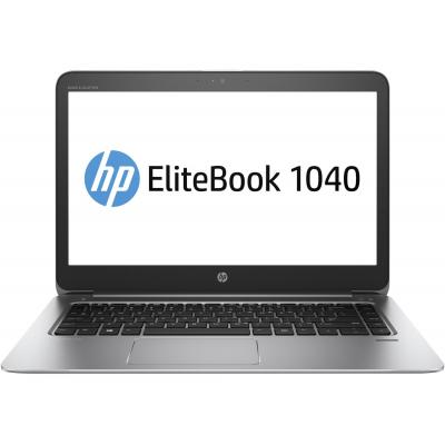Hp laptop: EliteBook Folio 1040 G3 - Zilver
