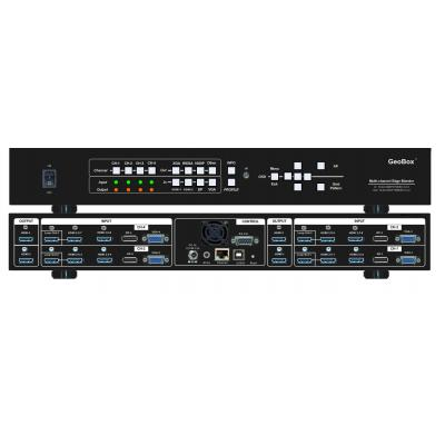 GeoBox M804 - Zwart
