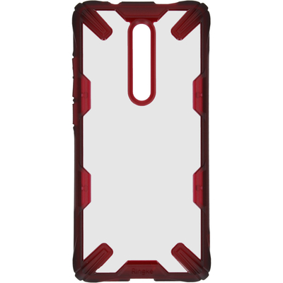 Ringke Fusion X Backcover Xiaomi Mi 9T (Pro) - Rood - Rood / Red Mobile phone case