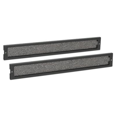 APC Dust Filter Pack NetShelter CX 18U & 24U 2 Small Filters Rack toebehoren - Zwart,Grijs