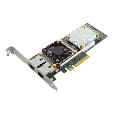 DELL Broadcom 57810 DP 10Gb BT Converged Network Adapter (laag profiel) Netwerkkaart - Groen