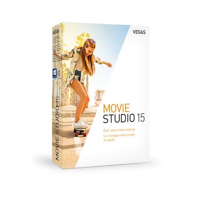 Magix VEGAS Movie Studio 15 grafische software