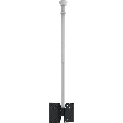 SmartMetals Plafondbeugel WIT tot max 2500mm incl. bracket VESA 600-400 TV standaard