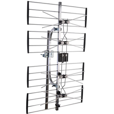 Maximum UHF4 Antenne - Zwart, zilver