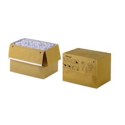 Rexel papier-shredder accesoire: Recyclebare Opvangzak 50L voor Papiervernietigers (50) - Bruin