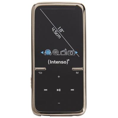 Intenso MP3 speler: Video Scooter 8GB - Zwart