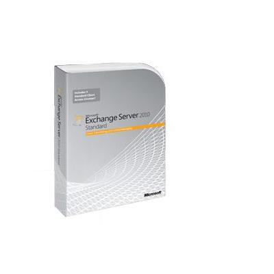 Microsoft communicatienetware: Exchange Server 2010 Standard, GOV, OLP-NL, SA, D CAL