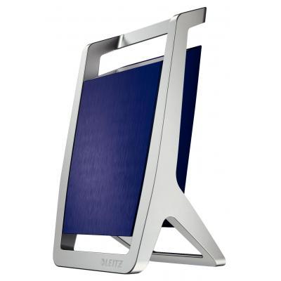 Leitz houder: 65 x 125 x 75 mm, 0.22 kg - Blauw, Zilver