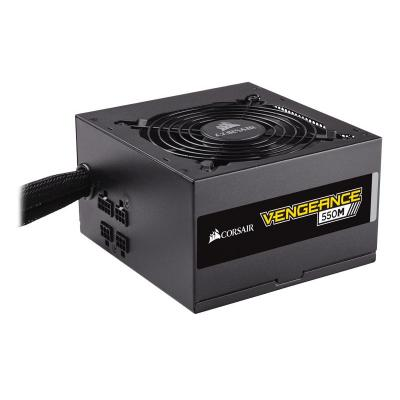 Corsair 1.57 kg, 550 W, ATX 2.4, PCI, SATA, 40°C, 100000 h Power supply unit - Zwart
