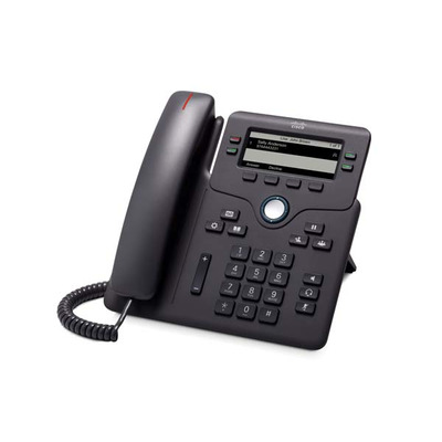 Cisco 6851 IP telefoon - Zwart